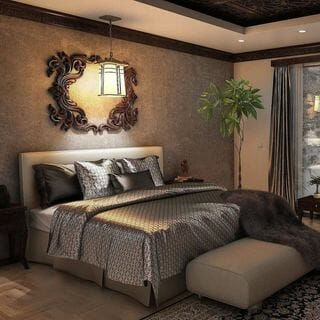 Small Bed Room Design / Decoration (#128805)