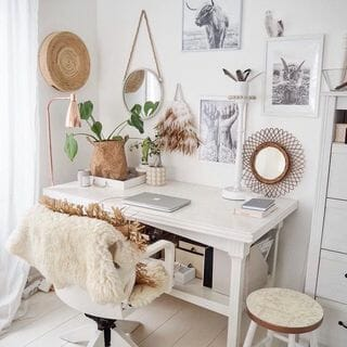 Luxury Gold Home Office Design / Decoration (#128676)