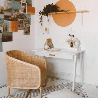 Green Home Office Design / Decoration (#68273)