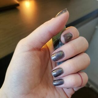 Silver Green Blue Yellow White Black Purple Gold Pink Brown Red Clear Long Grey Nail Designs  (#130463)