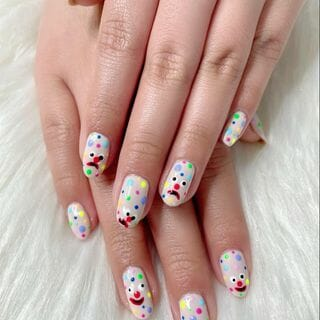 Flower Nude Nail Designs  (#136910)